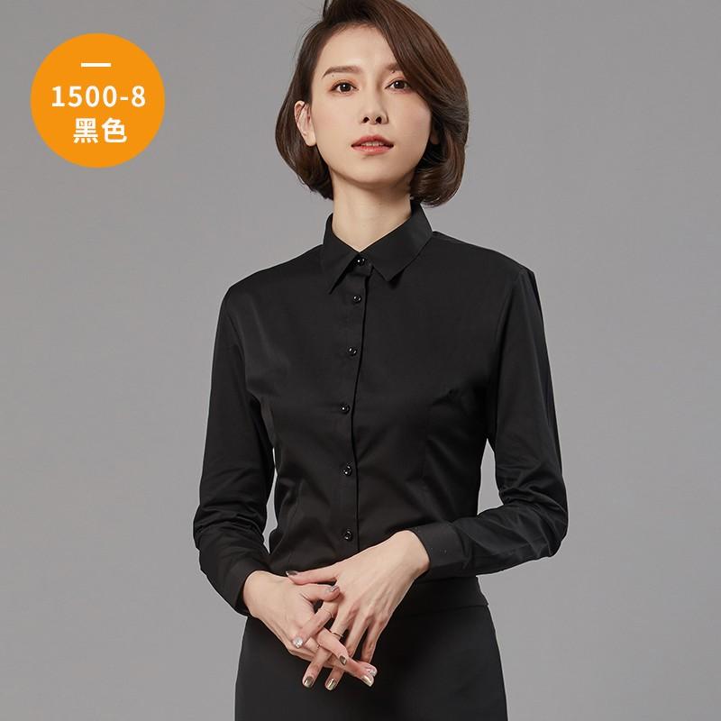 女士长袖衬衫1500-8
