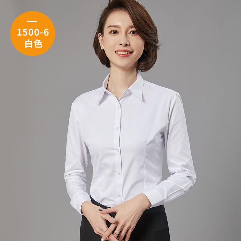 女士长袖衬衫1500-6