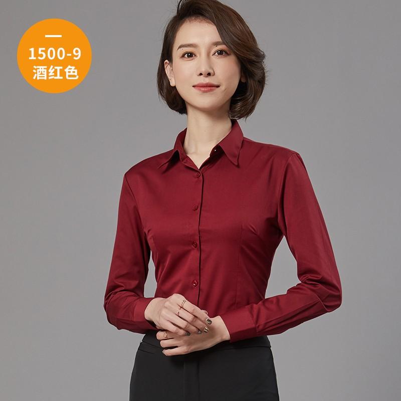 女士长袖衬衫1500-9