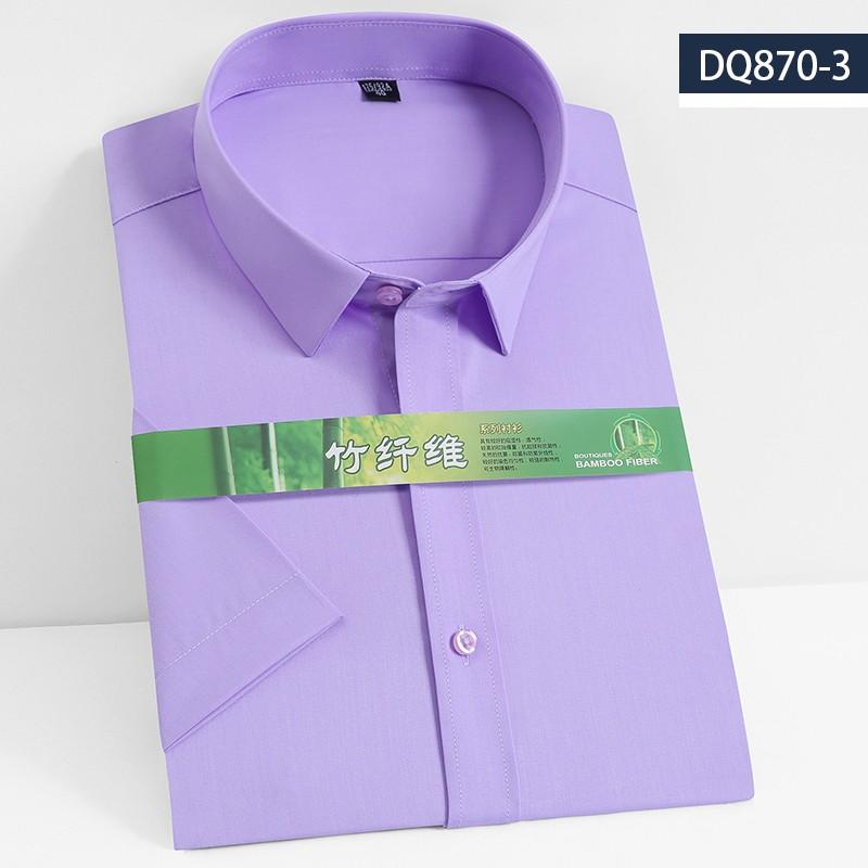 2019男士竹纤维短袖衬衫DQ870-3